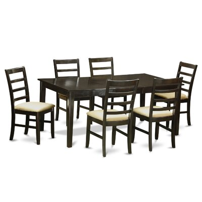 East West Furniture Henley 7 Piece Din..