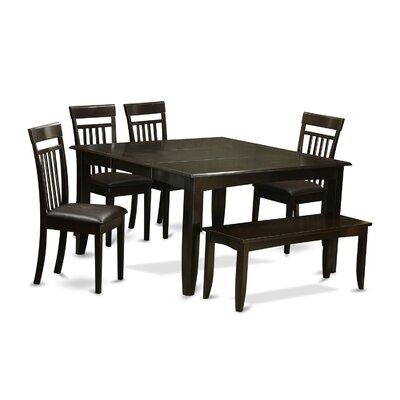 East West Furniture Parfait 6 Piece Dinin..