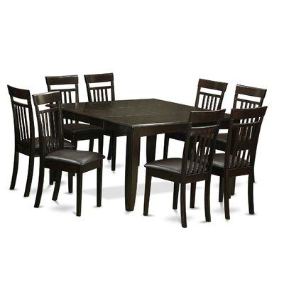 East West Furniture Parfait 9 Piece Dinin..