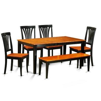 East West Furniture Nicoli 6 Piece Dining Set Image