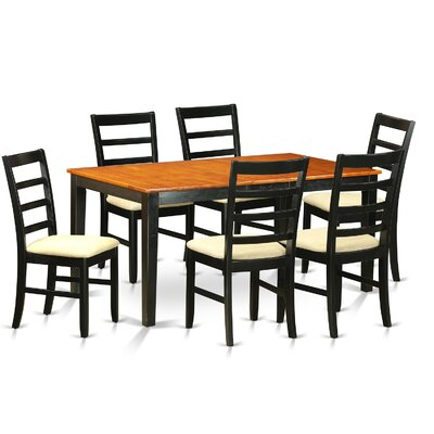East West Furniture Nicoli 7 Piece Dining..