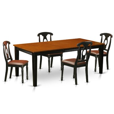 East West Furniture Quincy 5 Piece Dining Set