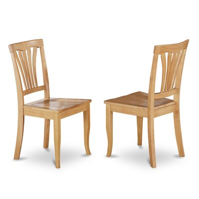 East West Furniture Avon Chair (Set of 2)