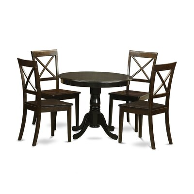 East West Furniture Hartland 5 Piece Dining Set