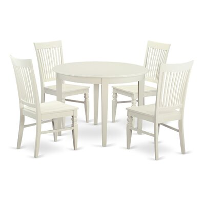 East West Furniture Boston 5 Piece Dining Set