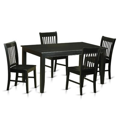 East West Furniture Dudley 5 Piece Dining Set