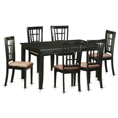 East West Furniture Dudley 7 Piece Dining..