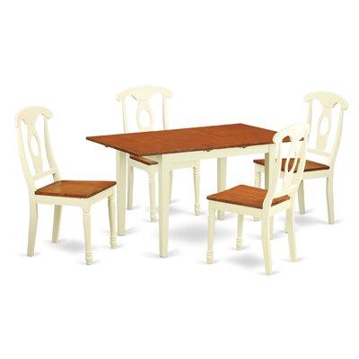 East West Furniture Norfolk 5 Piece Dining Set