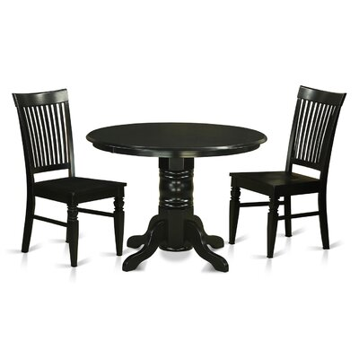 East West Furniture Shelton 3 Piece Dining Set