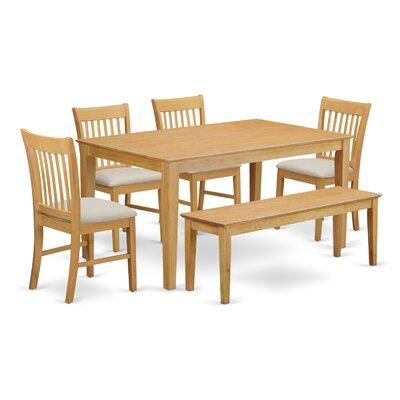 Charlton Home Smyrna 6 Piece Dining Set
