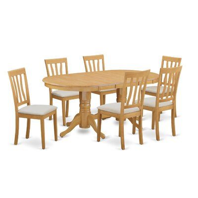Darby Home Co Rockdale 7 Piece Dining Set