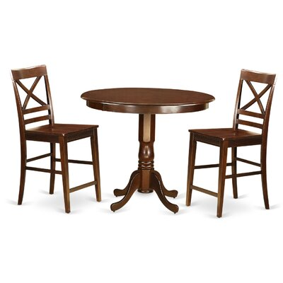 East West Furniture Trenton 3 Piece Counter ..