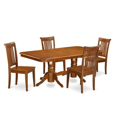 East West Furniture Naport 5 Piece Dining..