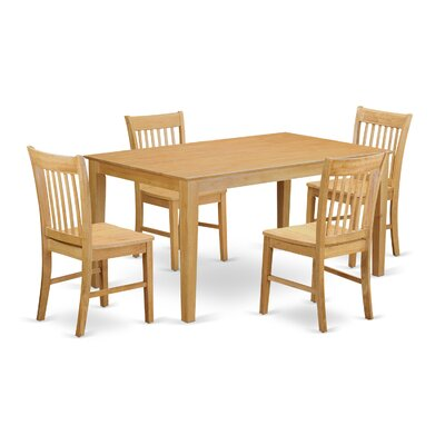 Charlton Home Smyrna 5 Piece Dining Set