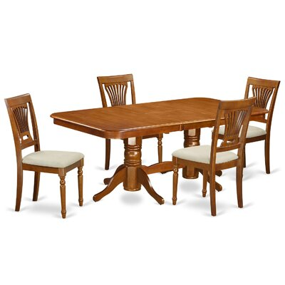 East West Furniture Napoleon 5 Piece Dini..