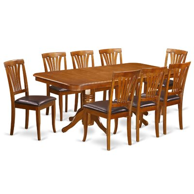 East West Furniture Napoleon 9 Piece D..