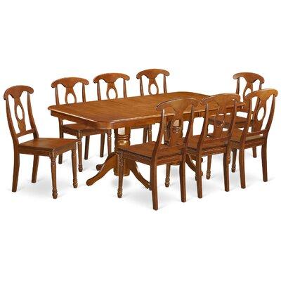 East West Furniture Napoleon 9 Piece Dini..