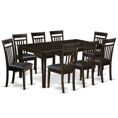East West Furniture Henley 9 Piece Dining Set