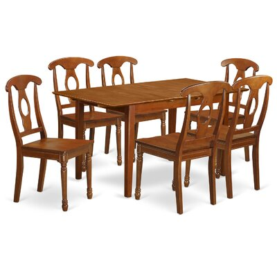 East West Furniture Picasso 7 Piece Dinning Set