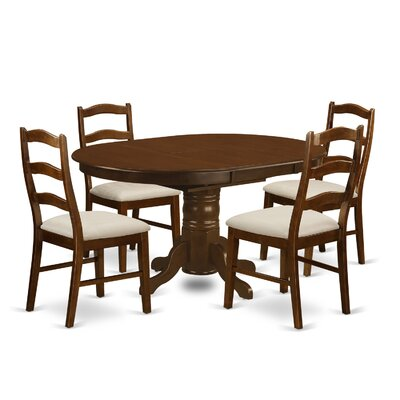 East West Furniture Kenley 5 Piece Dining Set