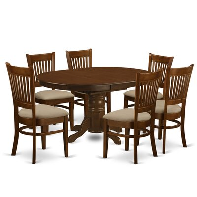 East West Furniture Kenley 7 Piece Dining..