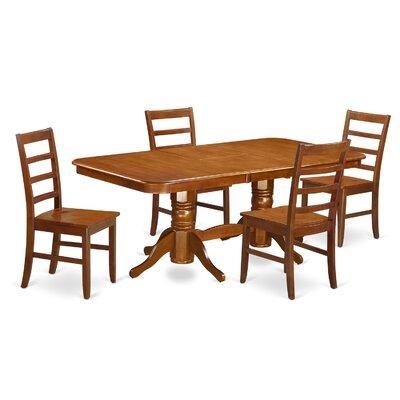 East West Furniture Napoleon 5 Piece Dini..
