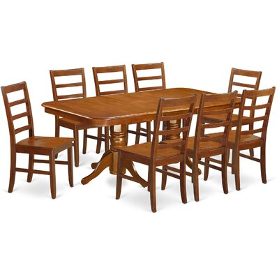 East West Furniture Napoleon 9 Piece Dining Set