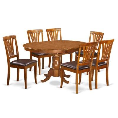 East West Furniture Portland 7 Piece Dini..
