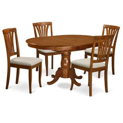 East West Furniture Portland 5 Piece Dini..