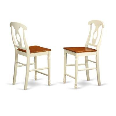East West Furniture Kenley Bar Stool (Set of 2)