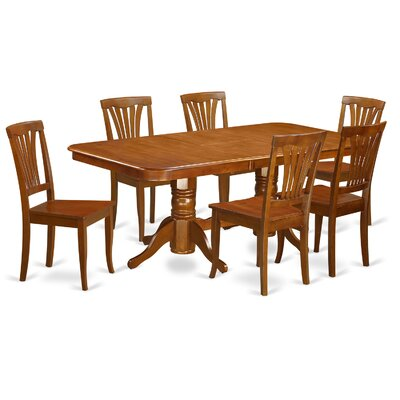 East West Furniture Napoleon 7 Piece Dining Set