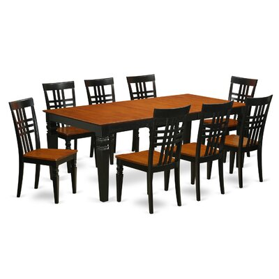 East West Furniture Logan 9 Piece Dining ..