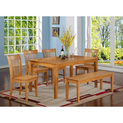East West Furniture Capri 7 Piece Dining ..