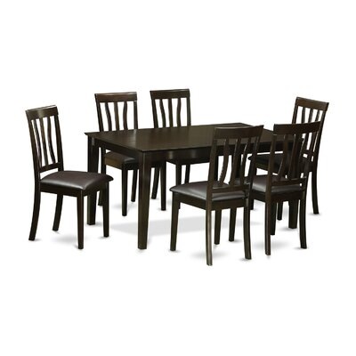 Wooden Importers Capri 7 Piece Dining ..