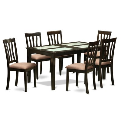 Wooden Importers Capri 7 Piece Dining Set