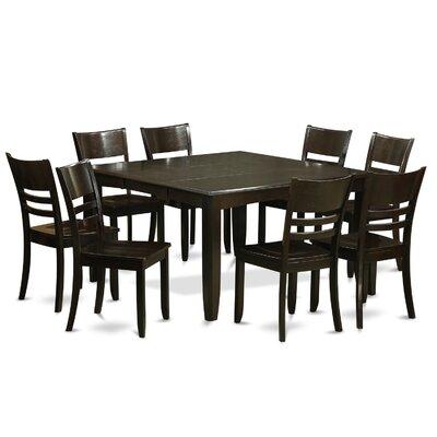Wooden Importers Parfait 9 Piece Dining Set