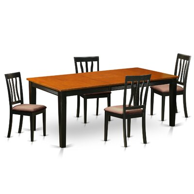 Wooden Importers Quincy 5 Piece Dining Set Image