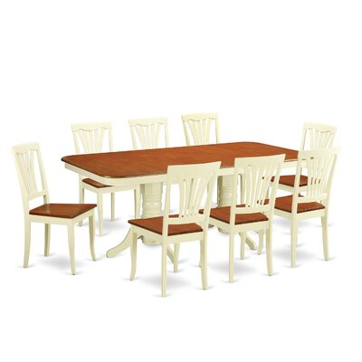 Wooden Importers Napoleon 9 Piece Dining Set