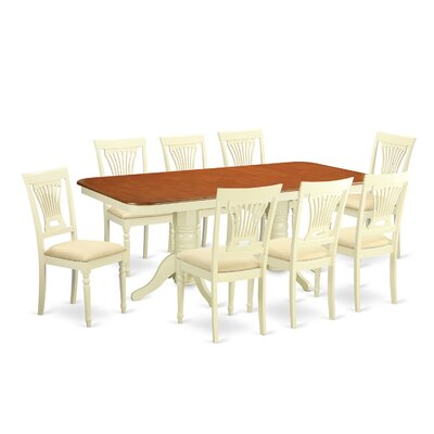 Wooden Importers Napoleon 9 Piece Dining ..