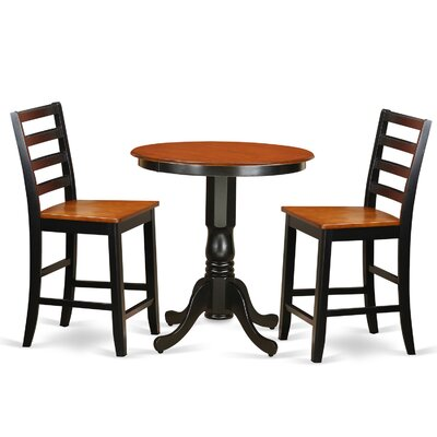 Wooden Importers 3 Piece Counter Height Pub Tabl..