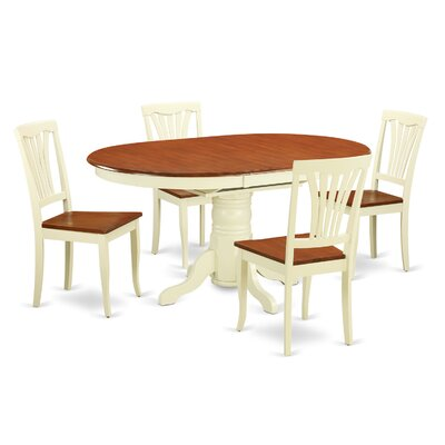 Wooden Importers Kenley 5 Piece Dining Set