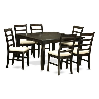 Wooden Importers Parfait 7 Piece Dining Set