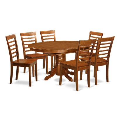 Wooden Importers Avon 7 Piece Dining Set