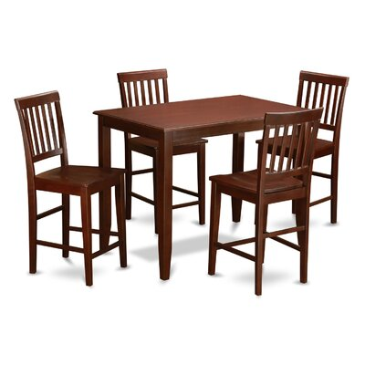 Wooden Importers 5 Piece Dining Set