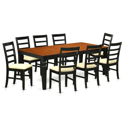 Wooden Importers Logan 9 Piece Dining Set