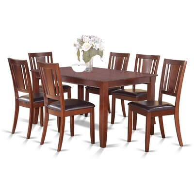 Wooden Importers Dudley 7 Piece Dining Set