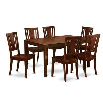 Wooden Importers Capri 7 Piece Dining Set