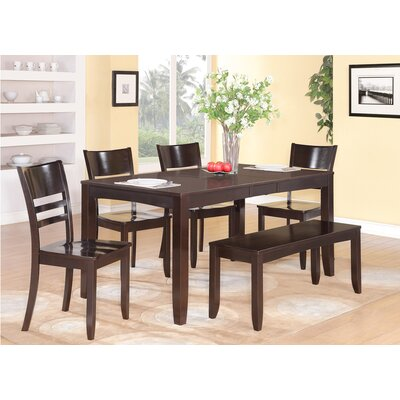 Wooden Importers Lynfield 6 Piece Dining Set