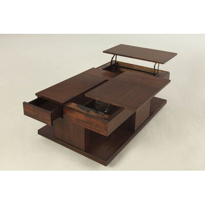 Darby Home Co Dail Coffee Table with Double Lift-Top