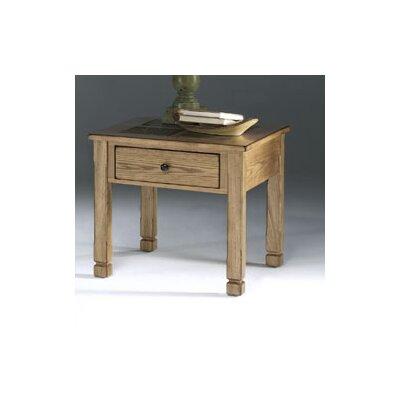 Progressive Furniture Inc. Rustic Ridge End Table
